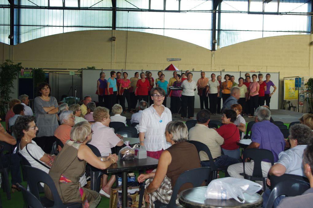 Auberge espagnole Hommage à Serge Goldberg avec la Chorale Choeur à choeurHall Mendès-France 2 septembre 2011