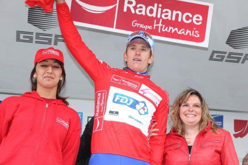 Kreder dans les derniers métres, Vachon de peu.. Lors de cette 4ème étape de la 59ème édition des 4 Jours de Dunkerque 2013, l'heure  des coureurs était à l'offensive sur cette fameuse épreuve des monts de l'Artois avec un départ de Lens