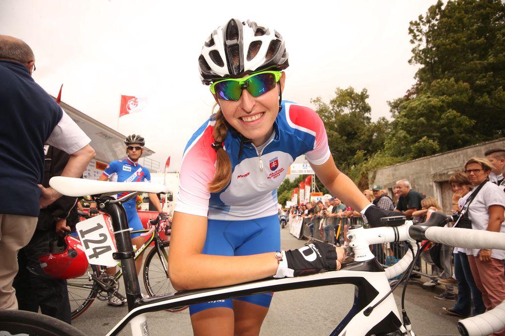 Claudia LICHTENBERG HÄUSLER (TEAM GIANT -SHIMANOS) remporte la 1ère étape à Mouilleron en ParedsCe dimanche 10 août 2014 avait lieu la 1ère étape de la 8ème édition de la Route de France Féminine Internationale 2014. Avec un Départ et un