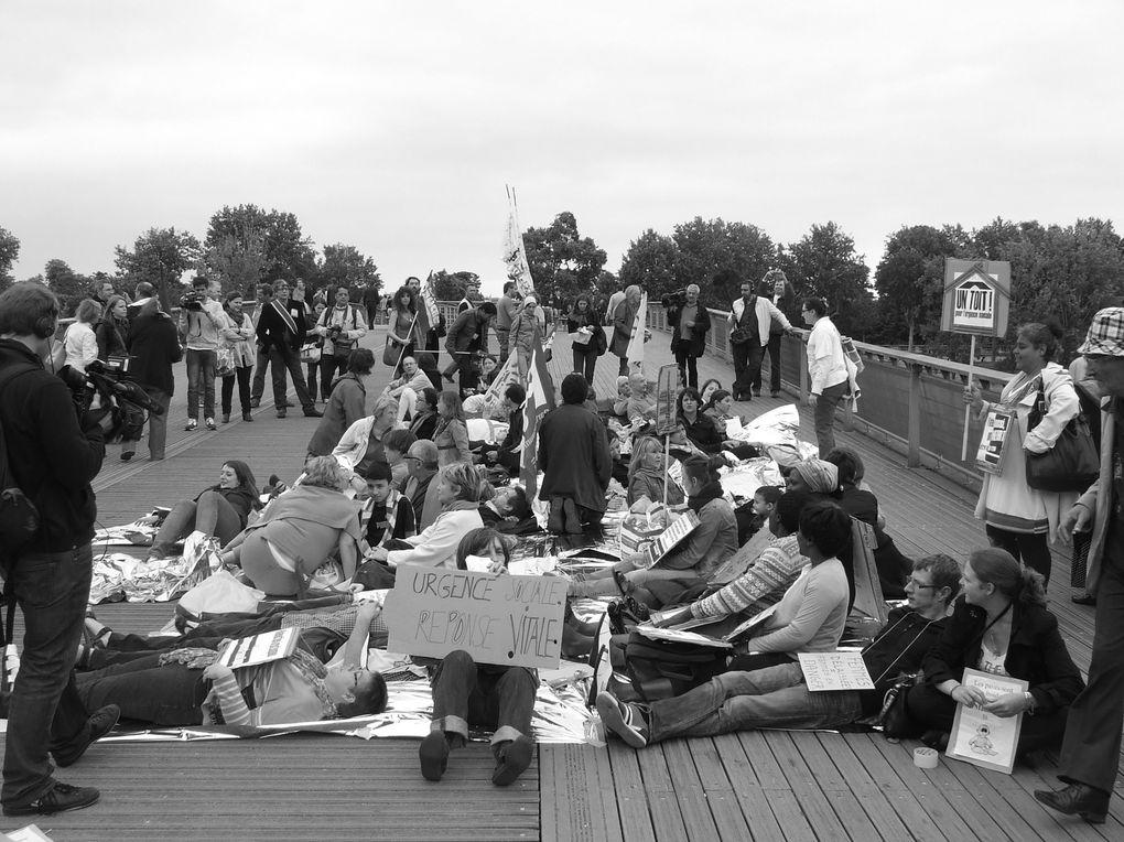 Album - manif-16-juillet-Installation-campement-square-Boucicaut