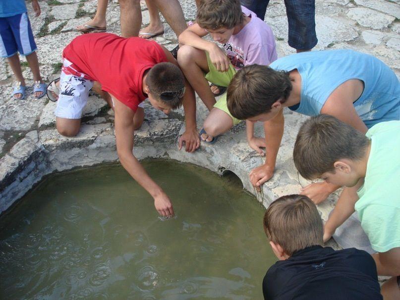 Dima en vacances en Bulgarie en juillet 2011
