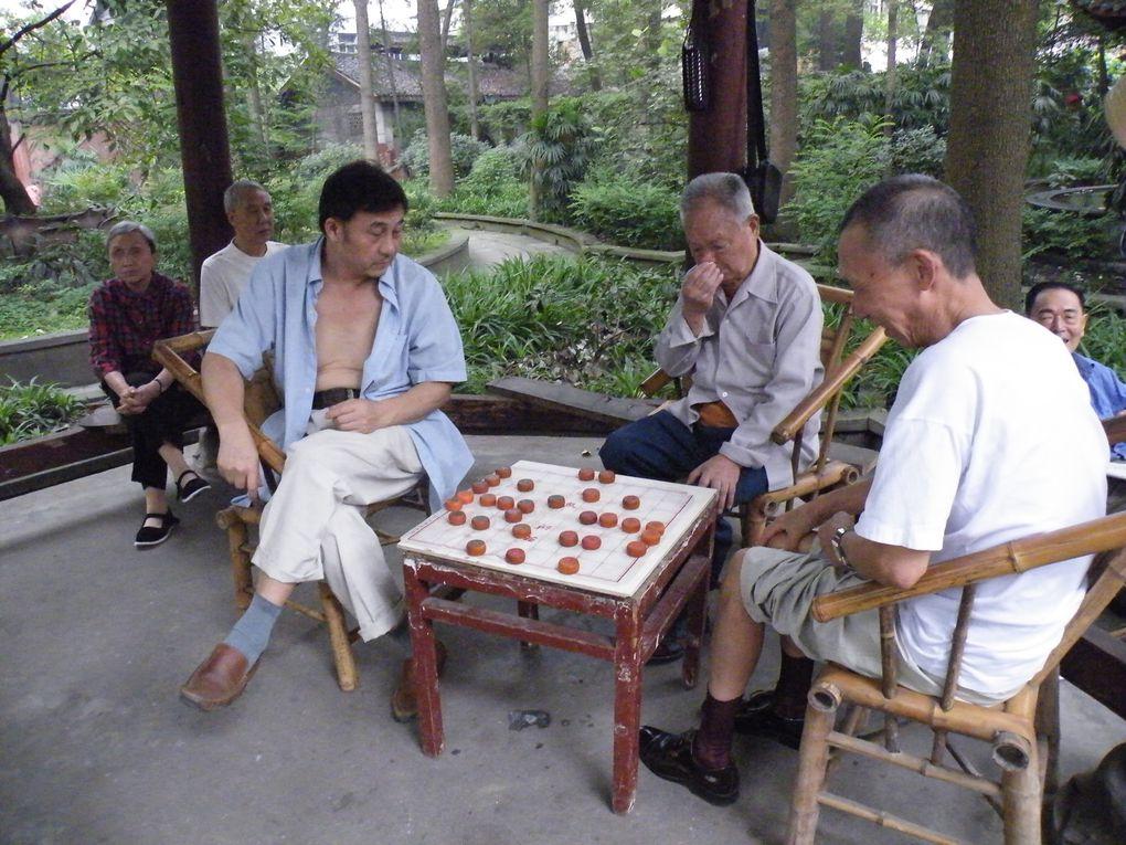 Chengdu,capitale du Sichuan, ne manque pas d'intérêt