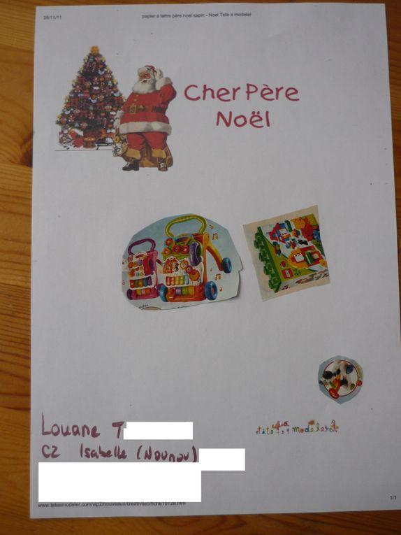 Les réalisations pour Noël 2011
