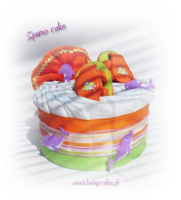 Vous trouverez ici tous les gâteaux de couches accessoirisés...