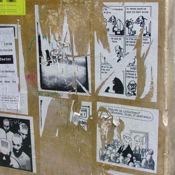 Expression politique sur les murs de la cité.BordeauxTàrrega