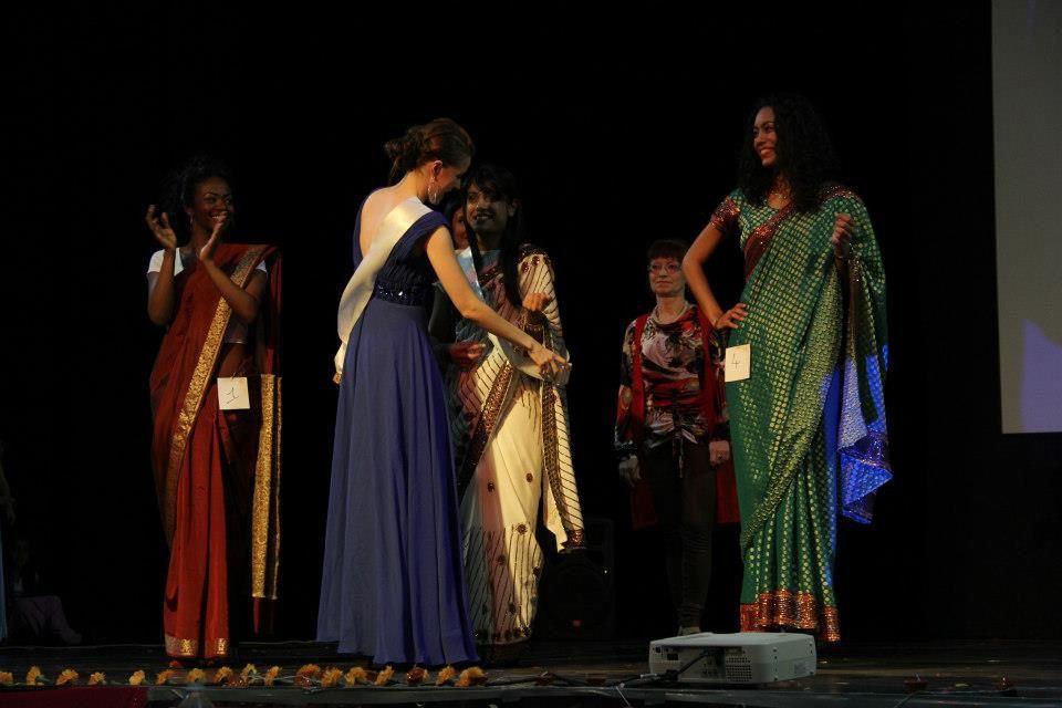 Election de Miss India Midi Pyrénées lors de Holi festival VASANTI- Salle Lafourguette Toulouse