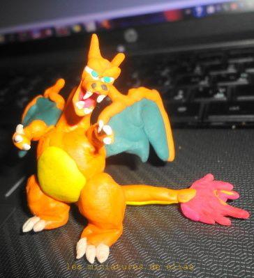 j'aime mes pokemons en pâte à modeler j'espère que vous allez les aimer aussi
