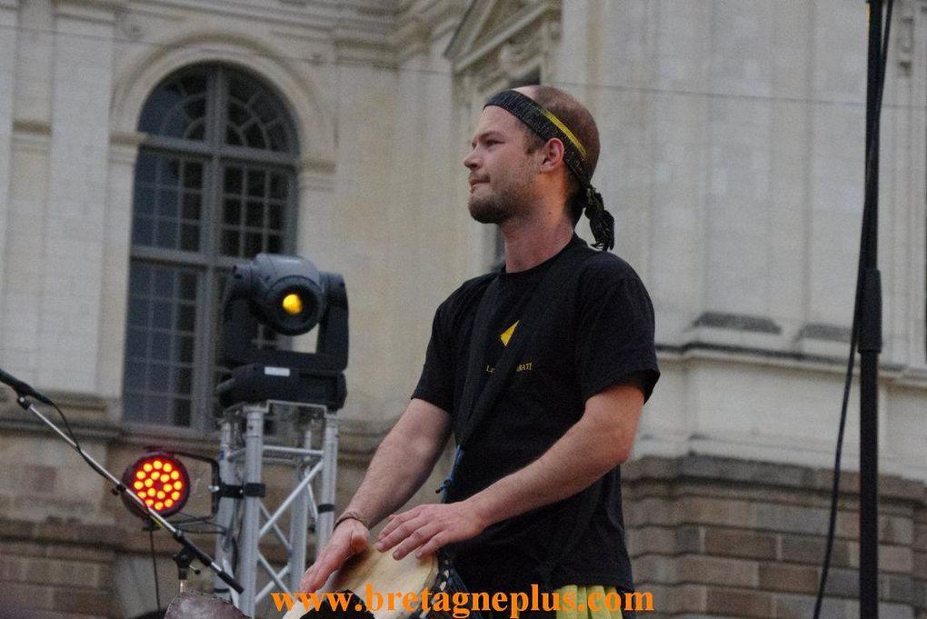 Vendredi 21 juin, premier jour de l'été. Se déroulait à Rennes, la Fête de la Musique.