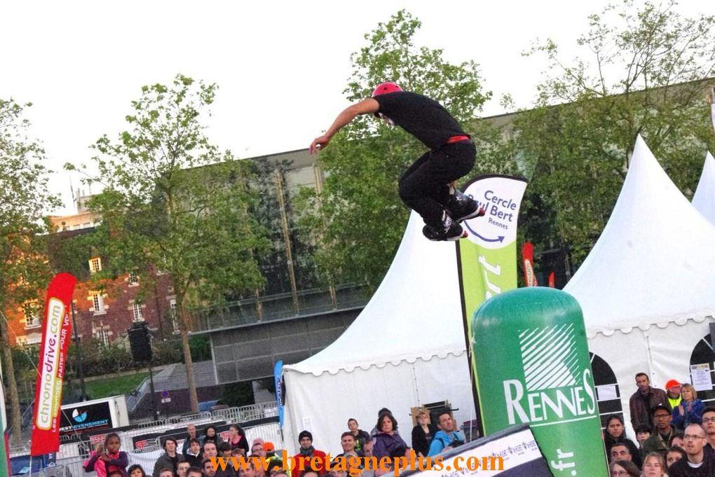 Ce samedi 25 et dimanche 26 mai, se déroulait la 31ème édition de Rennes sur Roulettes