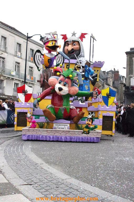 Ce dimanche 24 mars, se déroulait, le 54ème Carnaval des Gais Lurons de Vitré (35)