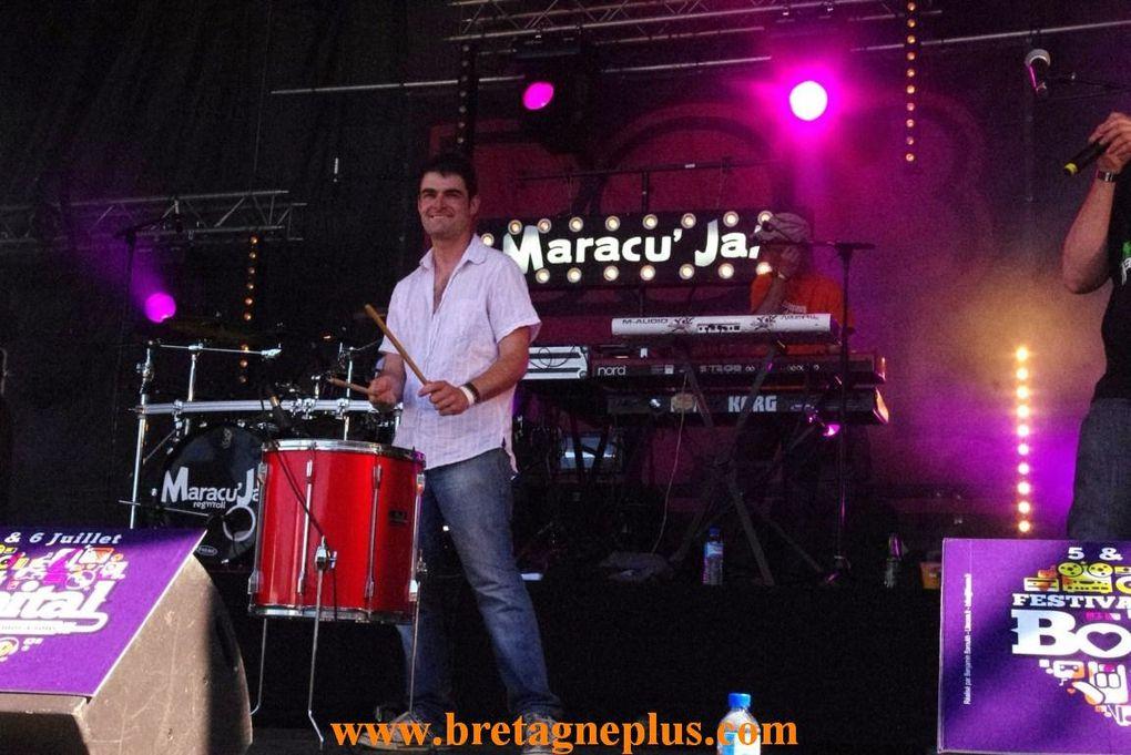 Samedi 6 juillet,  se déroulait, la seconde journée du Festival L' Armor à Sons, de Bobital .