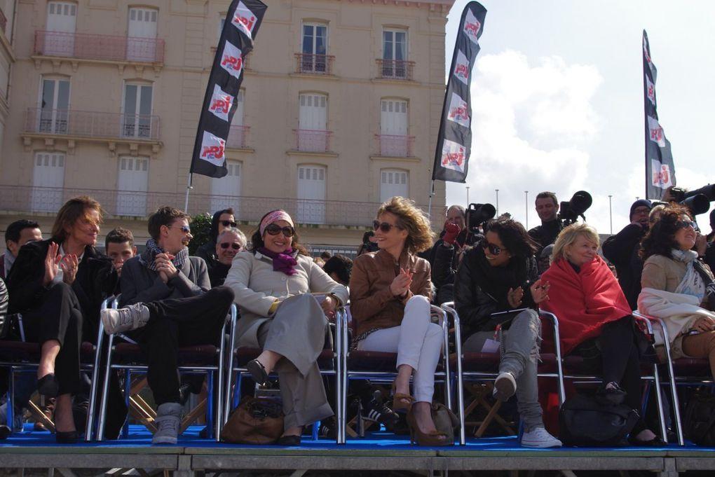 Pendant 3 jours,  du vendredi 13 au dimanche 15 avril, Dinard, recevait le Festival International des Jeunes Créateurs de Mode.