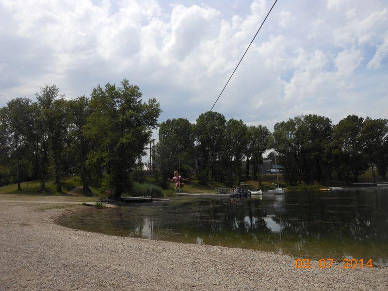 Parc de Miribel Jonage: juillet 2014