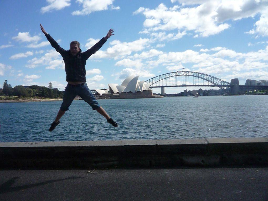 Am 10.09 waren wir in der Innenstadt und haben uns das angeschaut was man angesehen haben muss wenn man in Sydney gewesen is xD
