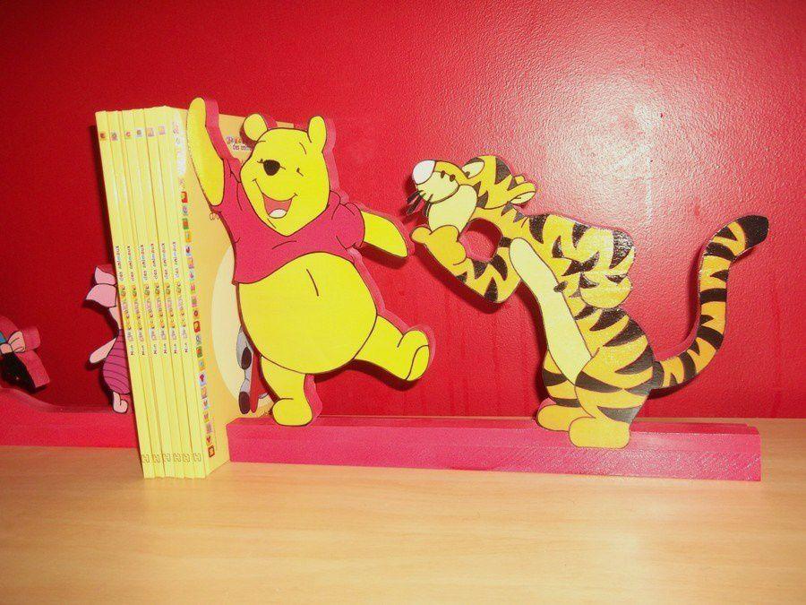 Quelques photos de Winnie l'ourson et ses amis.Nous pouvons fabriquer le prénom de votre enfant sur demande ! N'hésitez pas.
