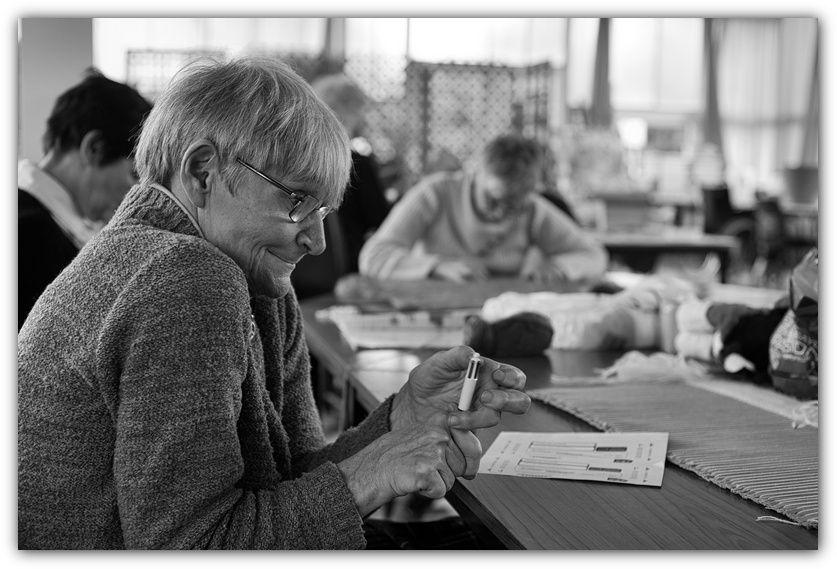 Reportage à l'atelier Vie et Joie de Créer de Savigny sur Orge