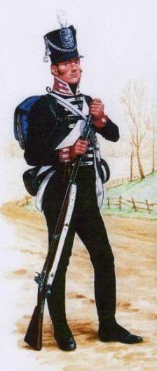 uniformes américains 1812/1815
