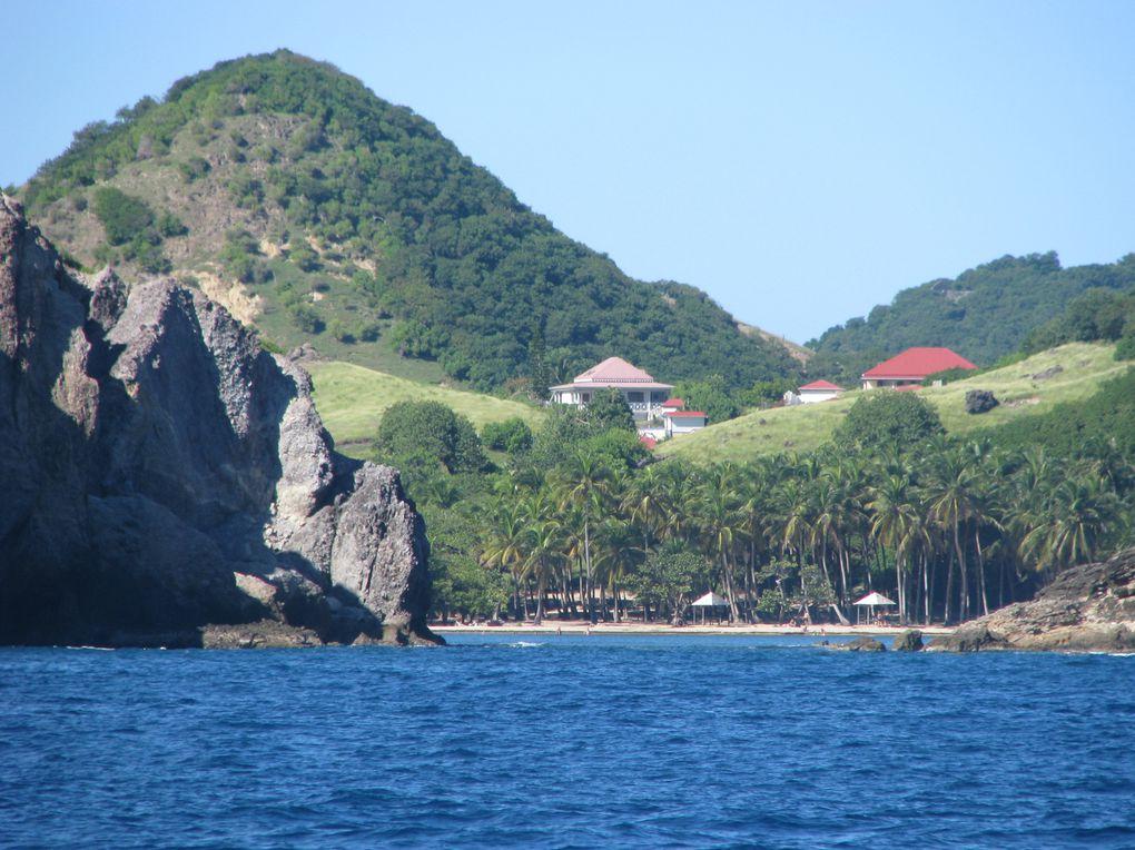 Navigation de ste-lucieà  la Guadeloupe, en passant par La Martinique, La Dominique