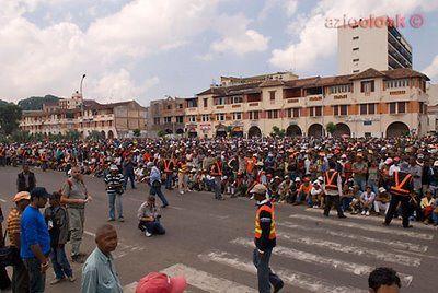 Qu' est ce qui reélement passer en 2009 à Madagascar ? Voilà des images qui montre ces évenements tragiques .
