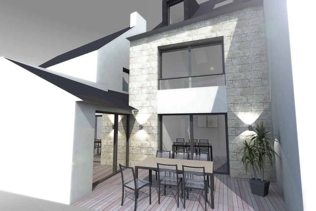 Album - Maison M - Construction d'une maison contemporaine - La Trinité-sur-Mer
