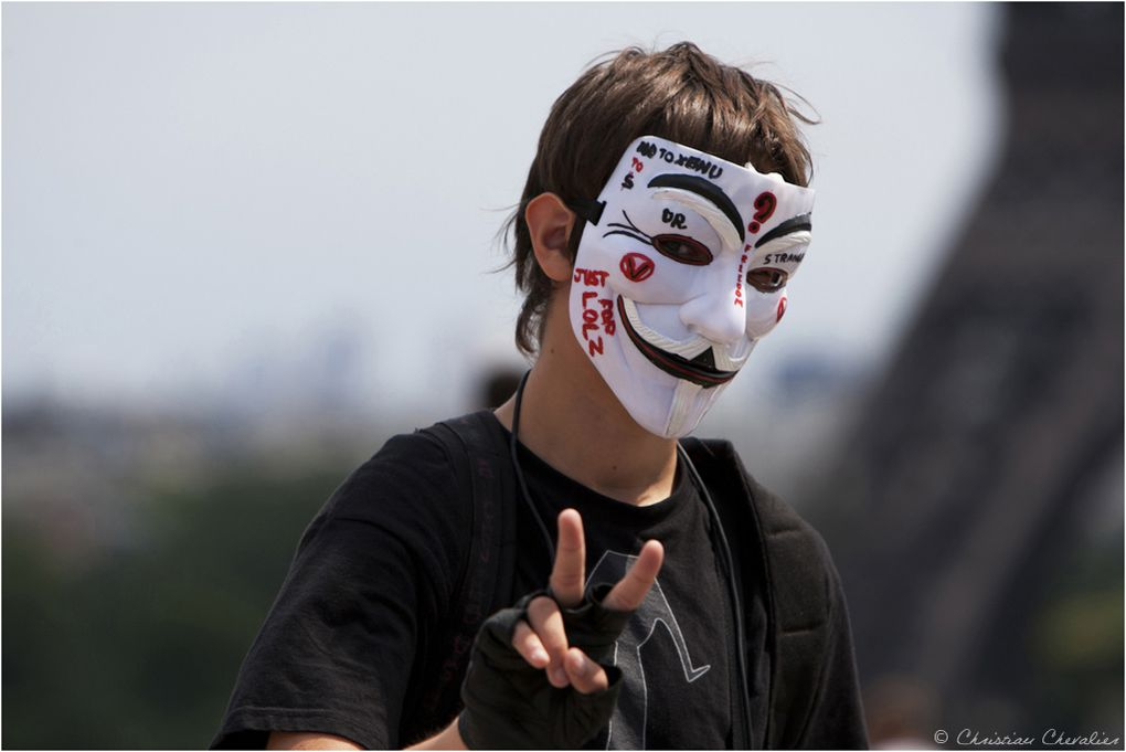 Album - Anonymous Indect et la scientologie