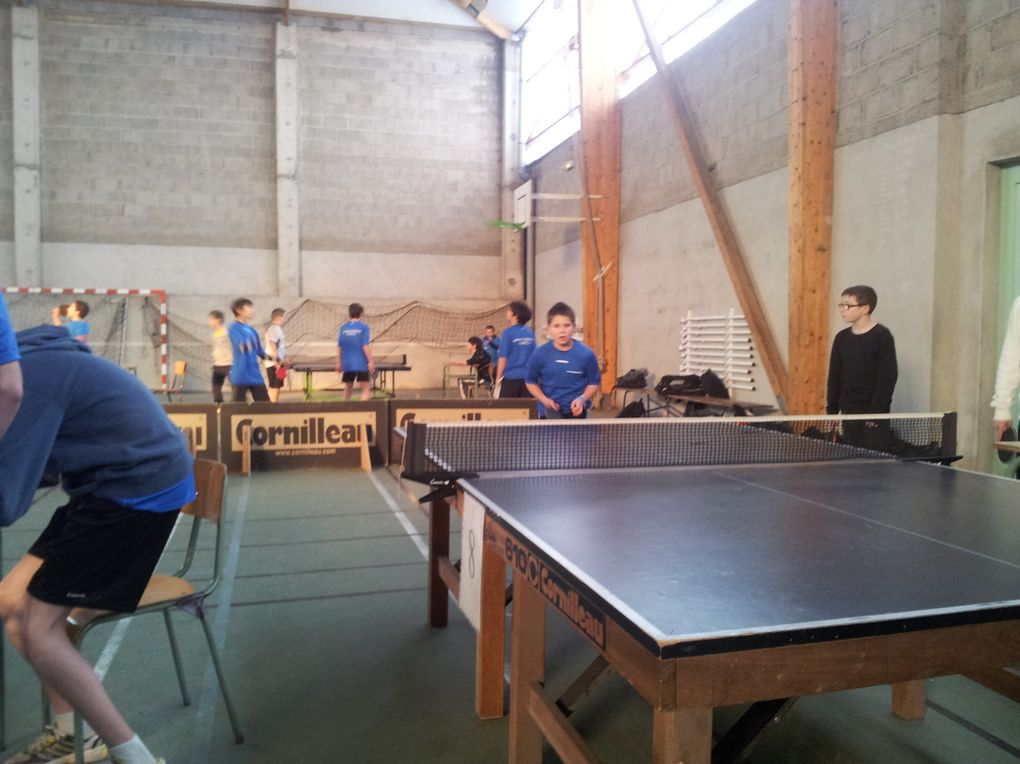 Album - Tennis de table 2012-2013