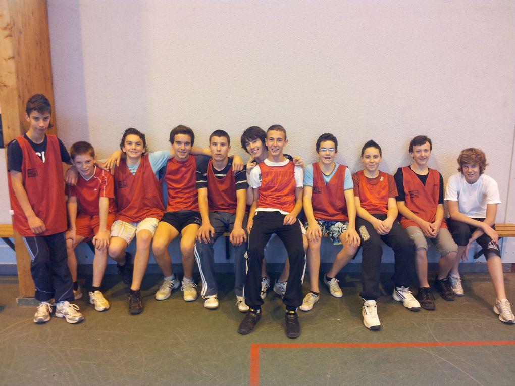Les photos des différents championnats de handball benjamins, minimes filles et garçons