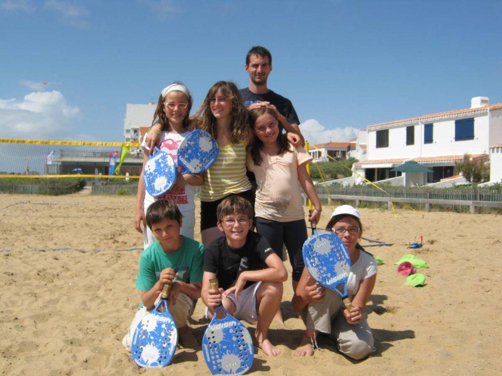 4ème et dernière semaine Drôlympique avec le rallye drôlympique et le beach tennis...Pour se détendre : lecture et vidéo.