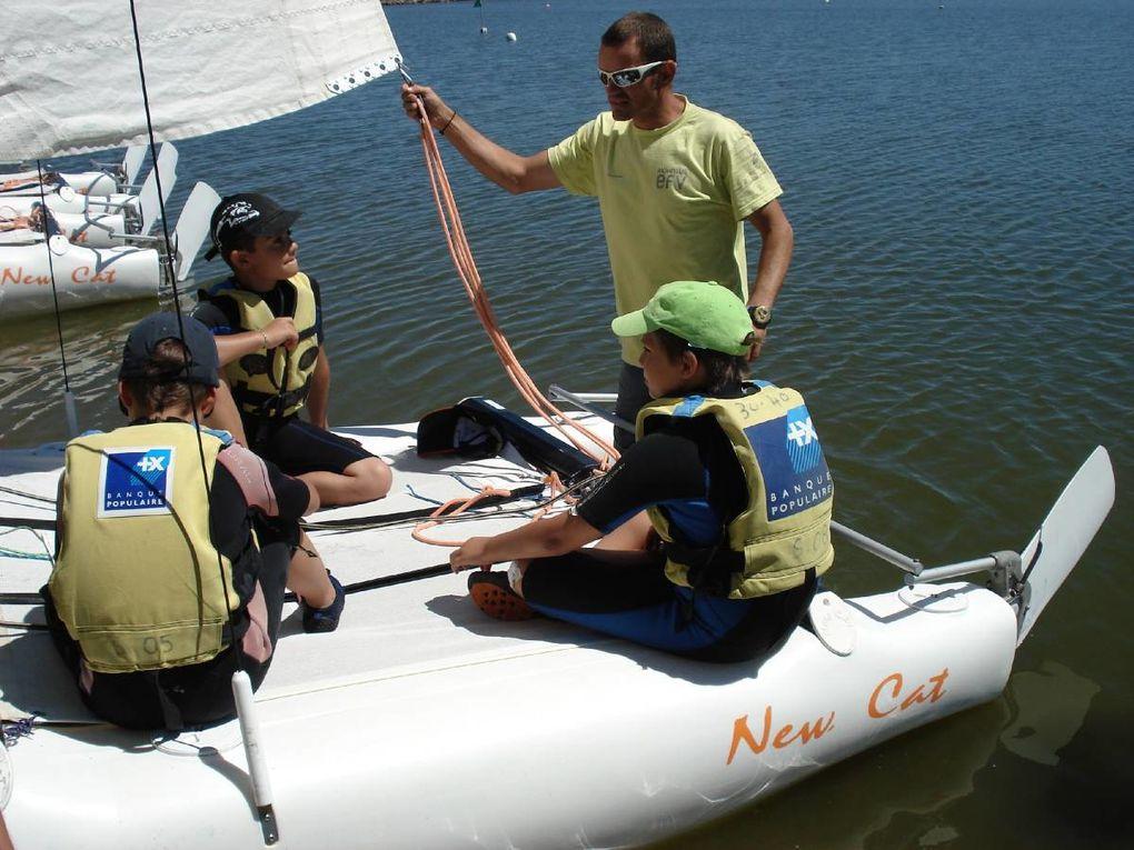 Catamaran, optimist et VELO étaient les ingrédients de ce séjour !!! Que de souvenirs !