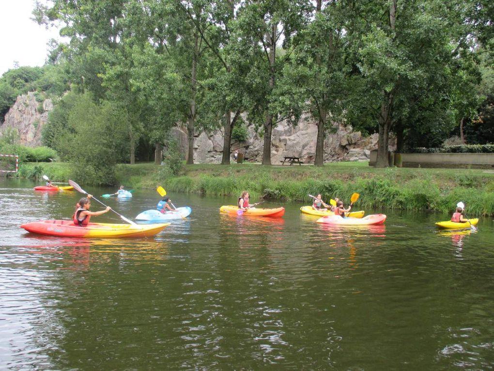 Séjour 9/10 ans - 2014A Pont Caffino, tir à l'arc, kayak et escalade !!