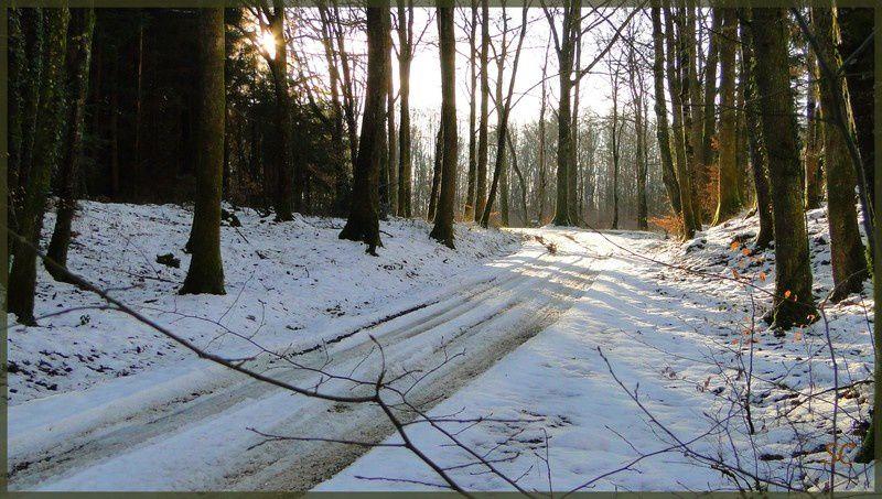 Givre, manteau blanc, montagne... et fête de Noël...