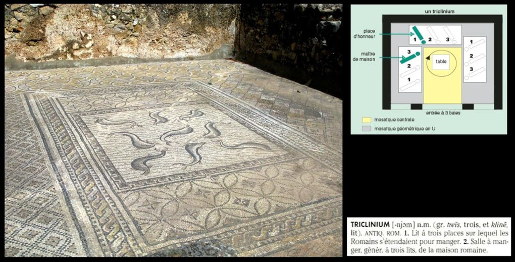 Visite de la ville antique de VOLUBILIS lors de notre voyage au MAROC en octobre 2010.
