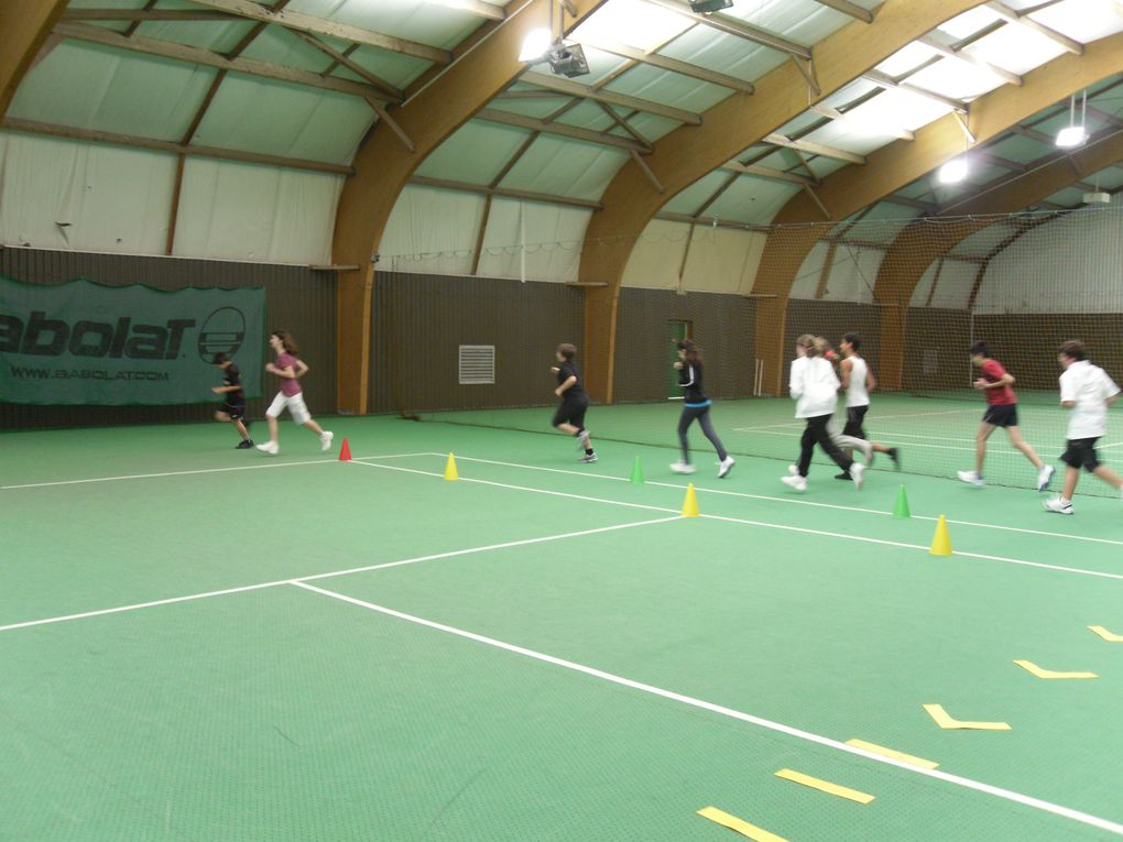 """""""Les animations sportives de l'école de tennis"""", rendez-vous du 24 octobre 2011"""