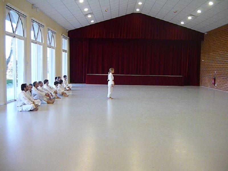 Stage enfants avec Patrick Herbert à Corronsac, en 2010