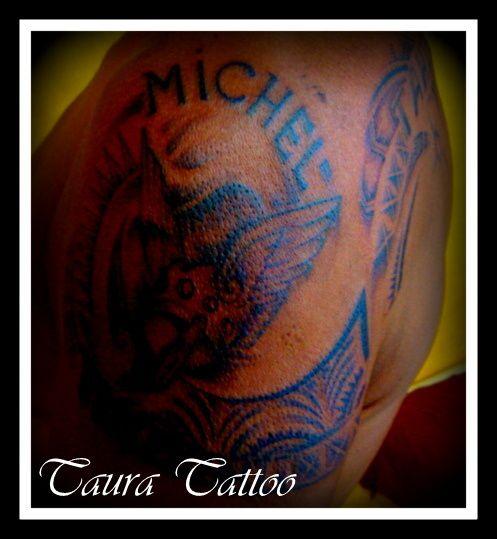 un travail de passionné!..l'inspiration d'un tatoueur en polynésie