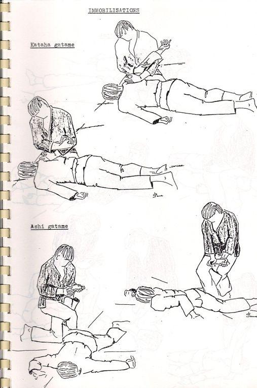 Aide-mémoire des katas et techniques de Yoseikan Budo