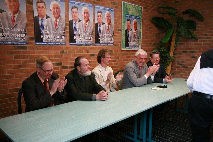 Hervé Poher - Alain méquignonCandidats pour la 6ème circonscription