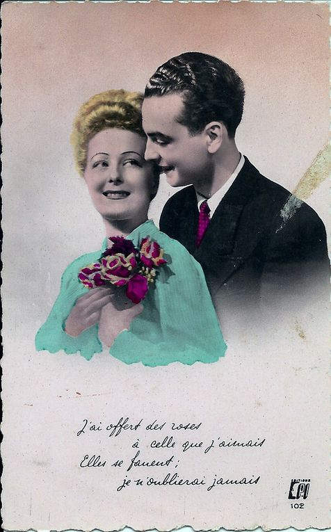 Album - cartes--amour--vintage-1940