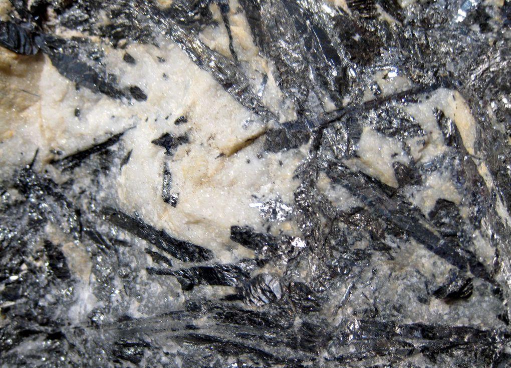 Quelques échantillons de l'inventaire des minéraux du bocage vendéen.