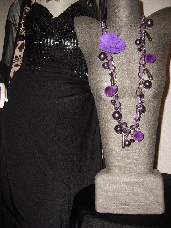 Bijoux Fantaisies voir Boutique en ligne Tissia Mode ou mail&tél.