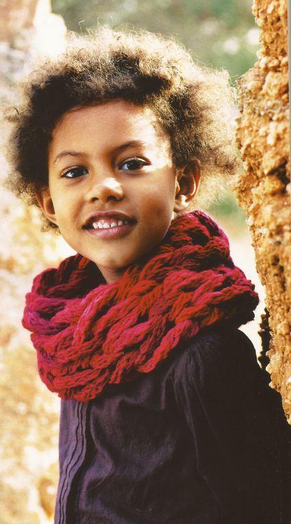 Modèles de tricots pour enfants : pull, écharpes, gilets ...