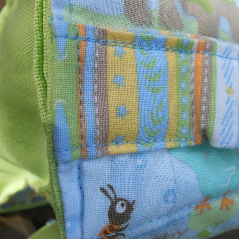 sacs, sacoches, vanity...en couture, avec des galons, des broderies...à l'infini !
