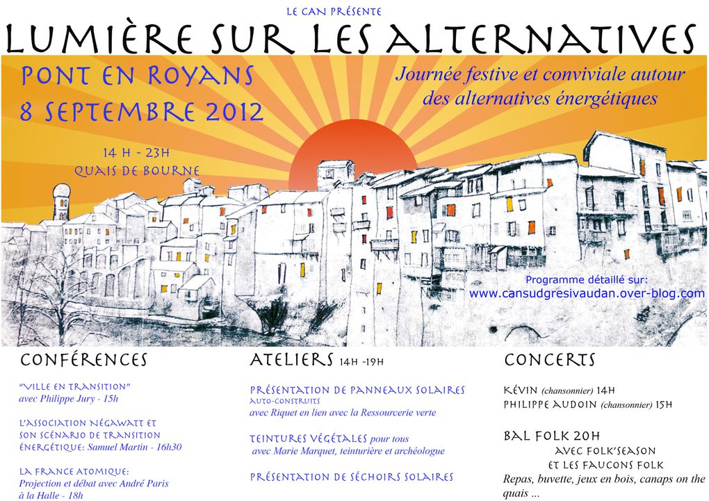 Album - Lumieres sur les alternatives 8/09/12