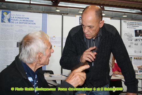 Forum des Associations à la Filature de Périgueux du 5 et 6 Octobre 2013.