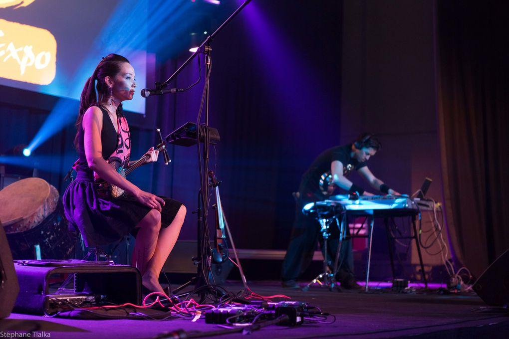 ce groupe Belge nous propose un joli mélange de musique traditionnelle Japonaise et d'électro. Pas encore d'album mais pour vous donner un aperçu : http://www.myspace.com/sayaconcept
