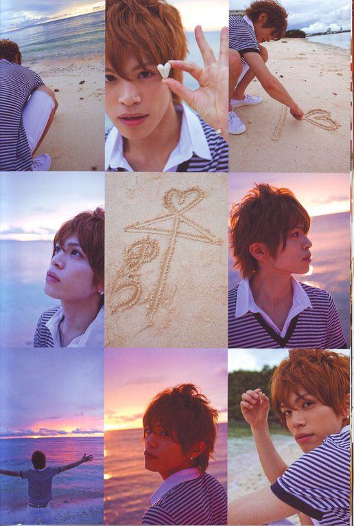 Scans du deuxième photobook de Yusuke : Secret Vacation !(Vous trouverez un lien pour télécharger directement le photobook sur l'article du blog correspondant ! :D)
