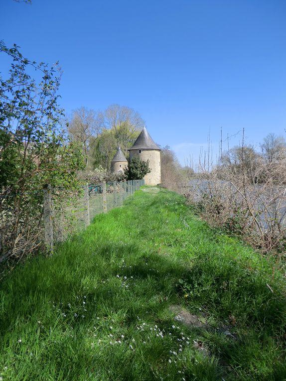 En suivant le sentier d'interprétation à Durtal,la promenade nous invite à découvrir des lavoirs,moulin,passerelle où nous nous embarquons vers le canal de l'argance