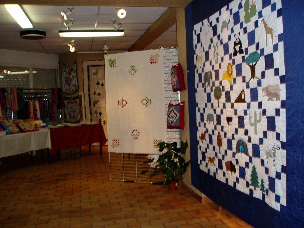 photos de l'exposition de fin novembre 2005 avec les round robin finis
