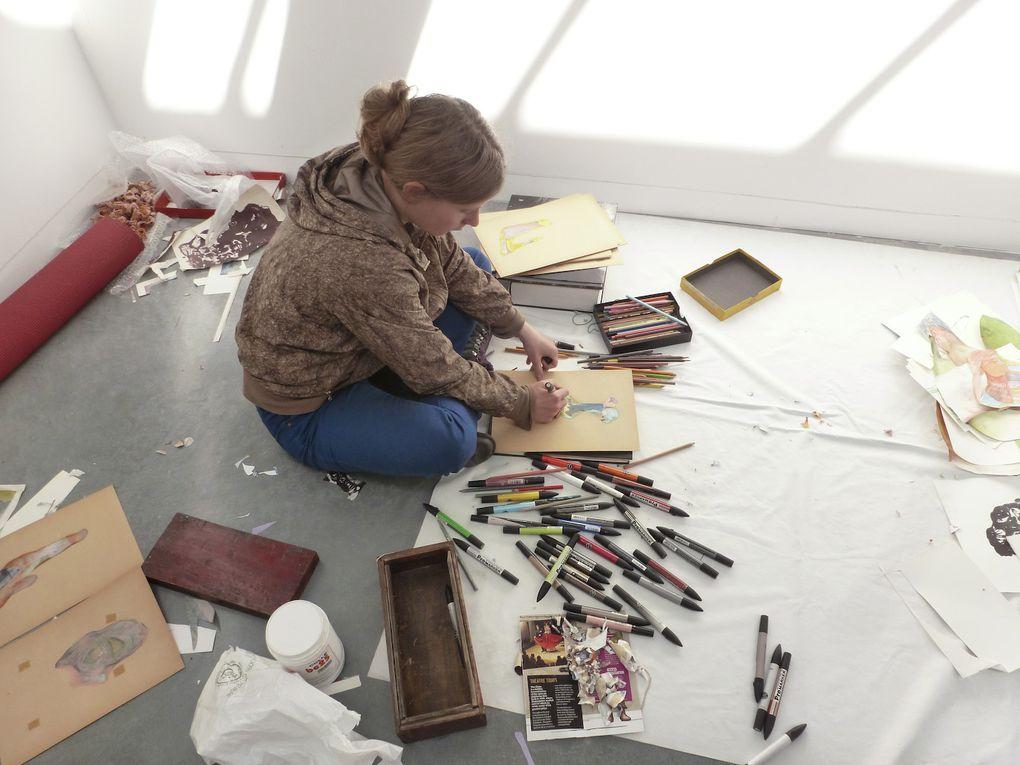 Le CACL a accueilli pendant dix jours 8 artistes rassemblés autour du médium du dessin. Ce workshop a permis à ces artistes de tester de nouvelles formes d'expressions et d'échanger à leur propos pour partager doutes et inspirations. Sur un temp