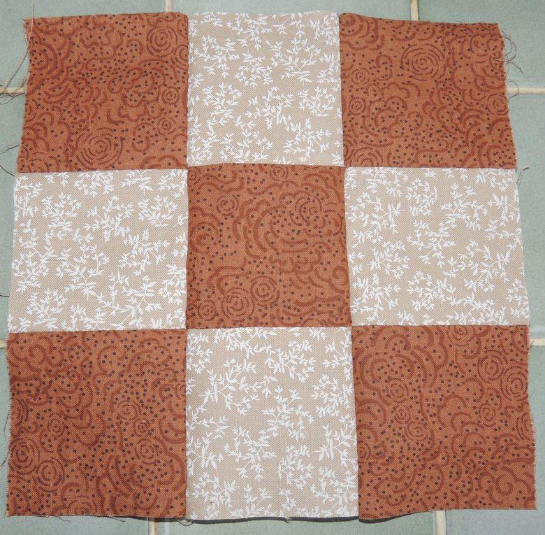 Mes premiers pas en patchwork
